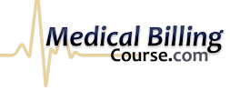 Medical Billing Online Certification Course for Employment or Work from Home Outsourcing Logo